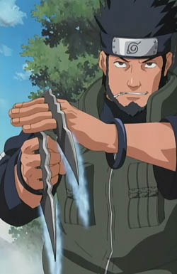 Asuma Sarutobi from Naruto Anime